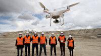 Maden sahalarında drone ile denetim dönemi
