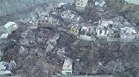 Korkunç manzara gün ağarınca ortaya çıktı: 60 ev küle döndü!