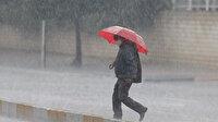 Yarın Türkiye'de 5 bölgede de yağış bekleniyor