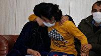 İkna yoluyla teslim olan 2 PKK'lı ailesiyle buluştu