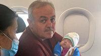 Uçakta bebeğin hayatını kurtaran doktor vekil 2 hastaya daha müdahale etmiş: Bu mesleğin mensubu olmaktan gurur duyuyorum