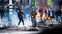 Hollanda'da kısıtlamalar Nisan'a kadar uzatılınca ülke karıştı