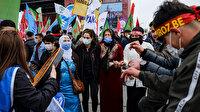 HDP'nin Nevruz etkinliğinde terör örgütü propagandası: 14 kişi gözaltına alındı