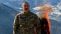 Azerbaycan Cumhurbaşkanı Aliyev, Nevruz ateşini işgalden kurtarılan Şuşa'da yaktı