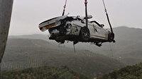 Otoyolda feci ölüm: Sürücü olay yerinde hayatını kaybetti