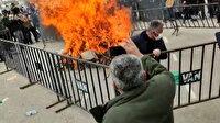 Nevruz ateşi yakarken yanıyorlardı: HDP'lilerin organize ettiği kutlamada 2 kişi yaralandı