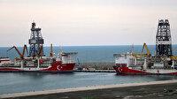 Milli gemiler Filyos'ta buluştu