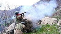Komandolarımıza ateş açan 20 terörist öldürüldü