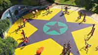 Küçükçekmece'deki çocuk parkına PKK paçavralarının döşenmesiyle ilgili 3 sanığa dava