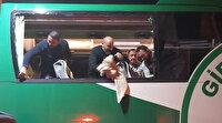 GZT Giresunspor kafilesine taşlı saldırının şüphelisi yakalandı