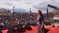 Polisin kolunu ısıran HDP'li Saliha Aydemir'den PKK elebaşı Öcalan'a methiyeler