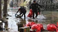 Burası adeta bir çöplük olmuş: Antalya'nın içme suyu kaynaklarından Kırkgöz Göleti'nde şoke eden kirlilik görüntüleri