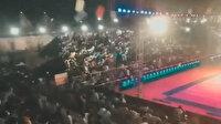 Hindistan'da spor müsabakasında tribün çöktü