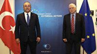 Bakan Çavuşoğlu: Borrell ile pozitif gündemi devam ettirmek için birlikte çalışacağız