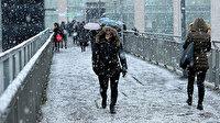 Meteoroloji ve AKOM uyardı: İstanbul'da kar ne kadar sürecek?