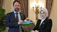 Emine Erdoğan'a çevre çalışmalarından dolayı BM'den ödül