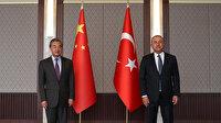 Bakan Çavuşoğlu: Uygur Türklerine ilişkin hassasiyetimizi ilettik