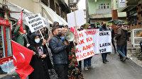 Evlatları PKK tarafından kaçırılan ailelerin eylemine HDP'liler tarafından engelleme