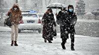 20 il için yoğun kar uyarısı!