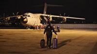 Arakanlı Müslümanlar için sahra hastanesi taşıyan askeri kargo uçağı Ankara'dan havalandı