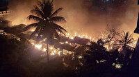 Hindistan'da pazar yangını: 500'den fazla dükkan hasar gördü