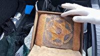 Değeri 1.5 milyon lira: Ceylan derisine altın işlemeli 2 bin 500 yıllık Tevrat'ı satmaya çalışırken yakalandılar