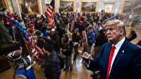 Trump ABD Kongre'si basanları savundu: Tehdit oluşturmuyorlardı