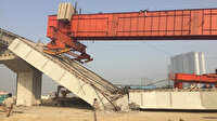 Hindistan'da inşaat halindeki üst geçit çöktü: 3 yaralı