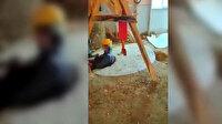 Defineciler suçüstü yakalandı: Kulübede kuyu açmışlar