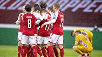 Danimarka rakibine acımadı: 8-0