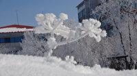 Kara kışı yaşayan vatandaşlar şaşkın: Göle, Sibirya gibi