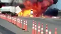 Brezilya'da deodorant yüklü kamyon bomba gibi patladı