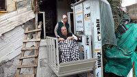Evin girişine asansör yapıldı: 6 yıl sonra tekerlekli sandalyeyle ilk kez dışarı çıktı
