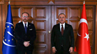 Bakan Çavuşoğlu, AKPM Başkanı Daems ile görüştü