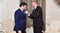 Karabağ zaferine Türk SİHA'ları damga vurmuştu: Azerbaycan Cumhurbaşkanı Aliyev'den Selçuk Bayraktar'a madalya
