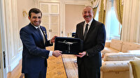 Azerbaycan Cumhurbaşkanı İlham Aliyev, Selçuk Bayraktar'a 'Karabağ Nişanı' takdim etti