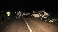 Şanlıurfa'da katliam gibi kaza: Beş kişi hayatını kaybetti
