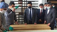 Diyarbakırlı öğrenciler, Türkiye'deki okullar için sıra ve masa üretiyor