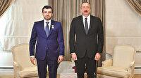 Bayraktar'a büyük onur: Aliyev Karabağ Nişanı taktı
