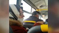 Otobüs şoföründen hamile kadına tepki çeken sözler