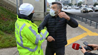 Minibüse fazla yolcu alan sürücüye ceza kesildi: Aracı bıraktı gitti