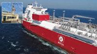 Bakan Dönmez müjdeyi verdi: Türkiye'nin ilk yüzer LNG gemisi bu ay içinde Türkiye'de olacak