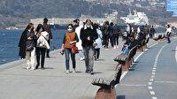 Üsküdar Sahili'nde turist yoğunluğu