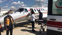 Batman'da ambulans uçak 22 aylık bebek için havalandı