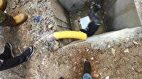 İşe başladığı ilk gün kahreden ölüm: İnşaattaki çukura düşen işçi öldü