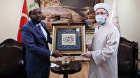 Diyanet İşleri Başkanı Erbaş, Somali Din ve Evkaf Bakanı Roble ile görüştü
