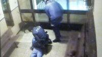 16 evi soydular, binadan çıkarken polise böyle yakalandılar