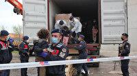 Yasa dışı yollarla İtalya'ya kaçacaklardı: 3 konteynerden 91 kaçak göçmen çıktı