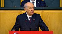 Devlet Bahçeli darbe imalı bildiri yayımlayan 104 emekli amirale açtı ağzını yumdu gözünü