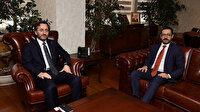 İletişim Başkanı Altun'dan AA'nın yeni Genel Müdürü Karagöz'e 'hayırlı olsun' ziyareti